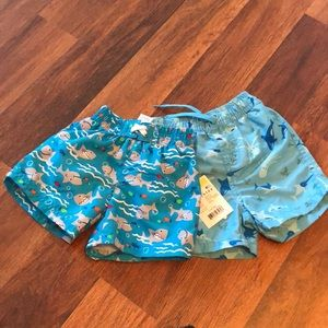 Other - 2 Baby Boys Bathing Suits 0-6month